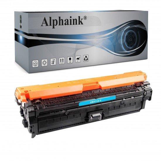 Toner HP CE271A Ciano Compatibile