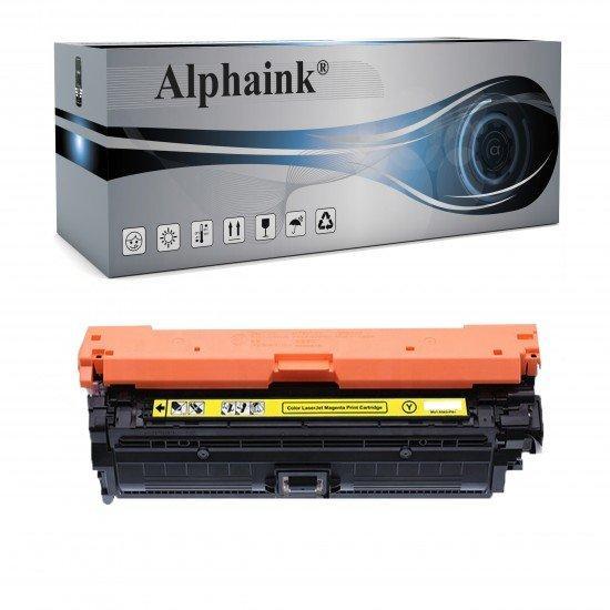 Toner HP CE742A Giallo Compatibile