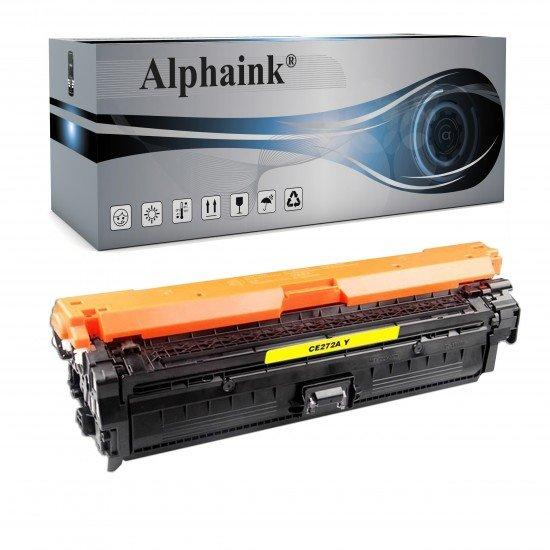 Toner HP CE272A Giallo Compatibile
