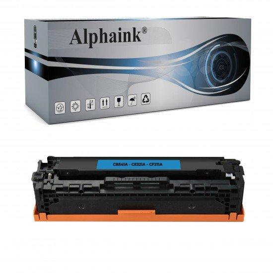 Toner HP CB541A-CE321A-CF211A Ciano Rigenerato