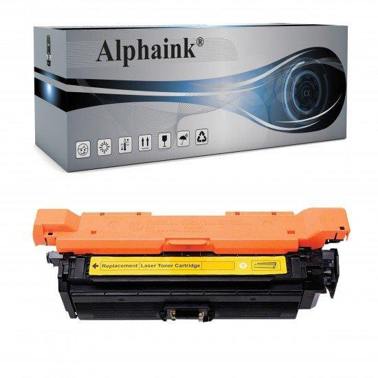 Toner HP CE252A Giallo Compatibile