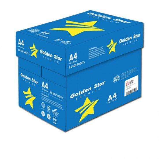 Carta A4 Golden Star 75 gr - 5 risme