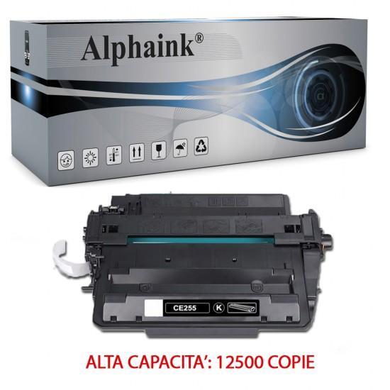 Toner HP CE255X Nero Compatibile