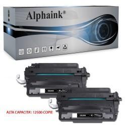 2 Toner HP CE255X Nero Compatibili