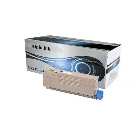 AI-C542H-BK Toner Nero Compatibile per Oki C532DN, 542DN/MC 563DN, 573DN 1500 copie