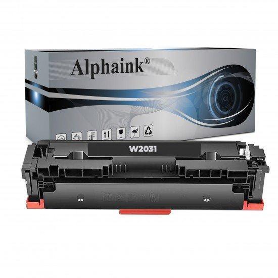 Toner HP W2031A Ciano NO CHIP Compatibile