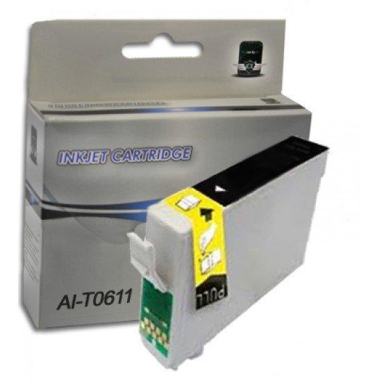 Cartuccia Epson T0611 Nera Compatibile