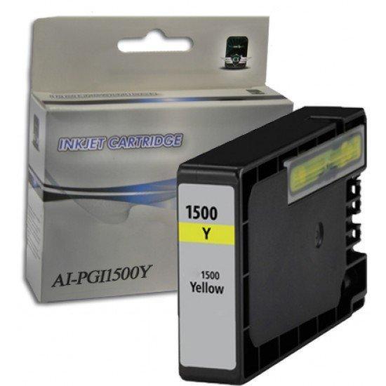 Cartuccia Canon PGI1500Y Giallo Compatibile