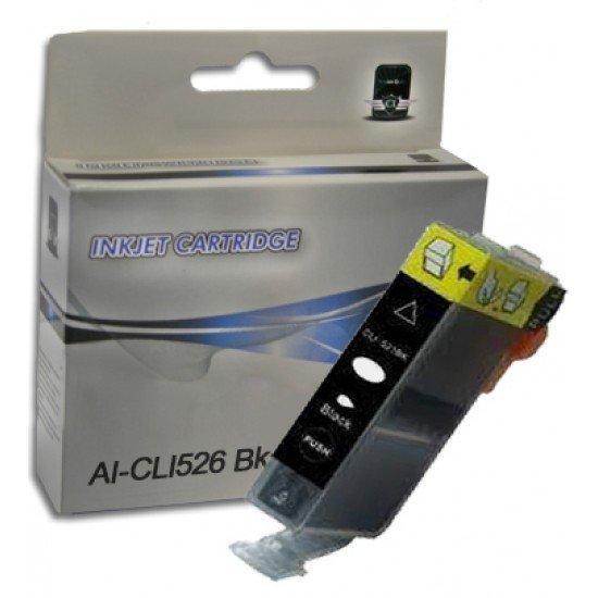Cartuccia Canon CLI526-BK Nero  CON CHIP Compatibile