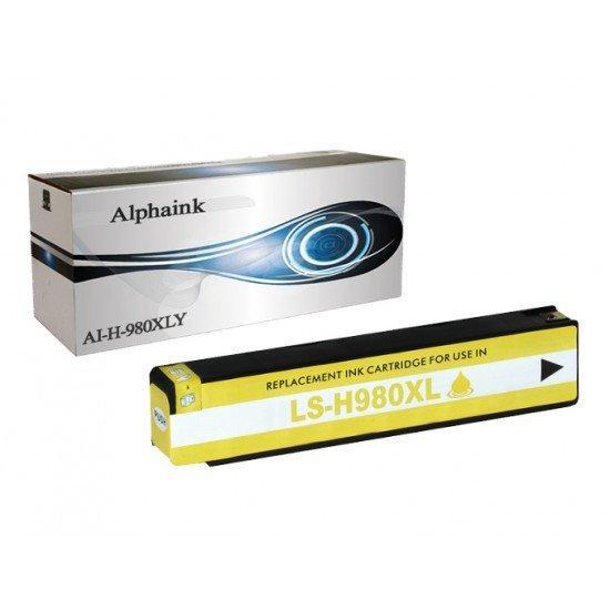 Cartuccia HP 980 XL Y Giallo Compatibile